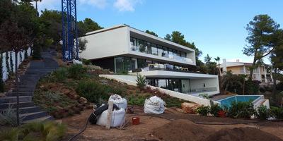 Villa Voltor, Palma de Mallorca, Hispaania Tellija NOBE Partners Maht 1200m2 siseviimistlustööd